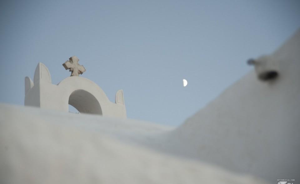 L'omnipésence du blanc à Santorini