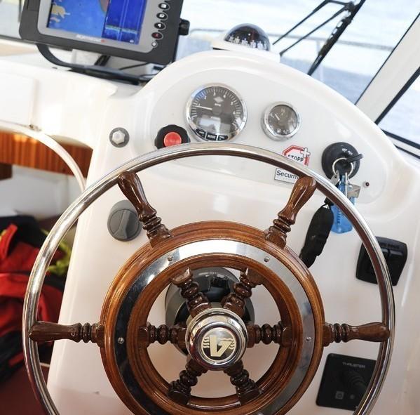 Tour de bateau avec notre marin préféré à Ballstad, Lofoten