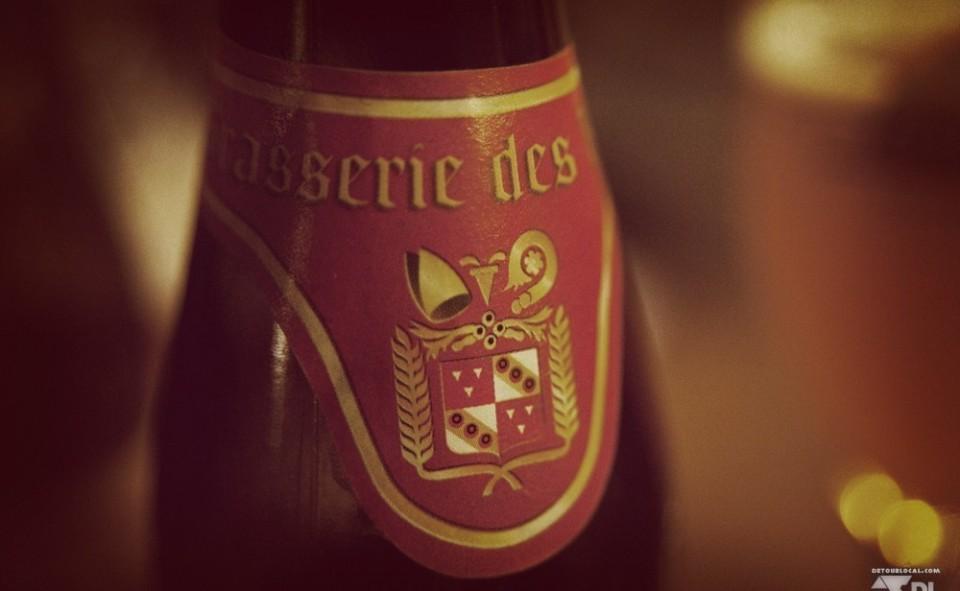 Une bonne bière bien belche