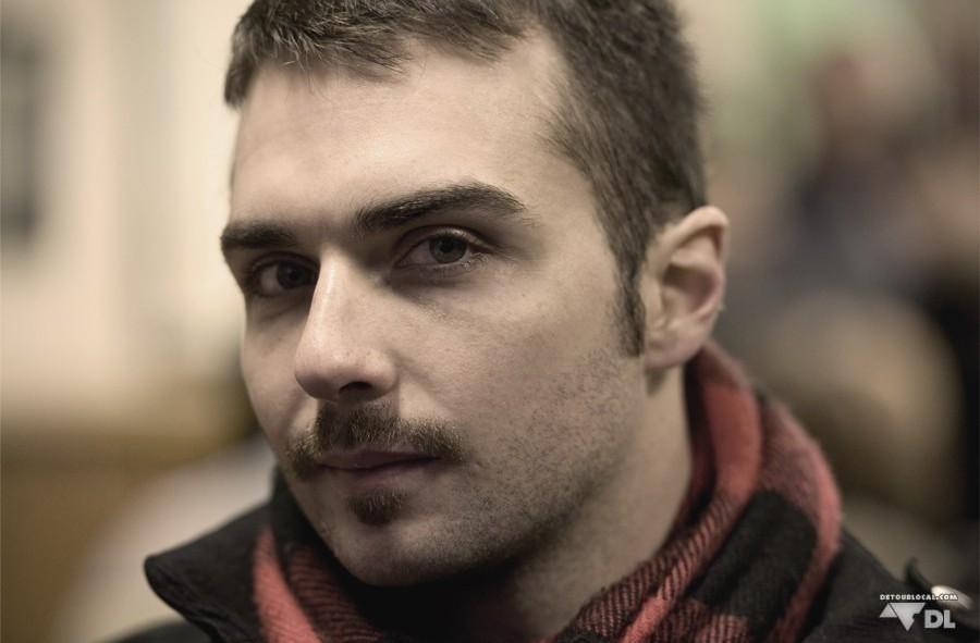 Hugo et sa moustache