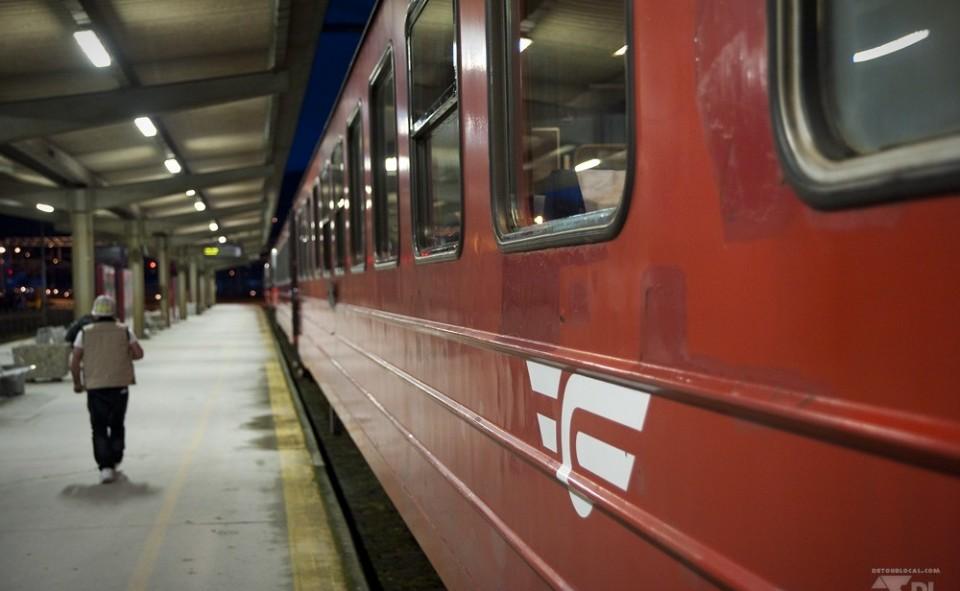 Train NSB Oslø Norvège