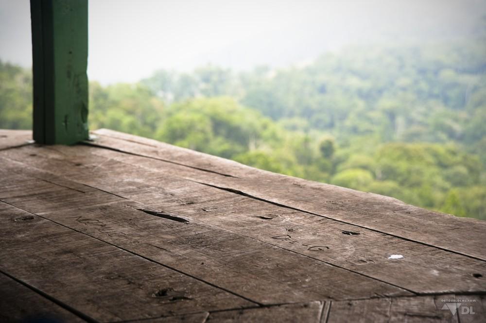 Pause pic nic en haut des montagnes d'Usambara
