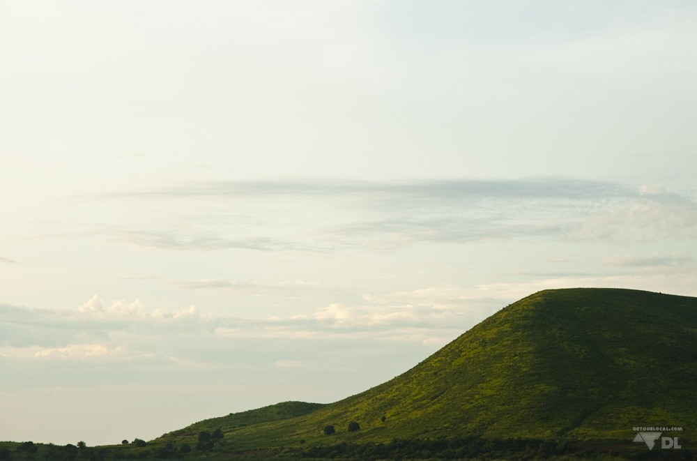 Colline tout près de Kigoma dans le nord-ouest de la Tanzanie