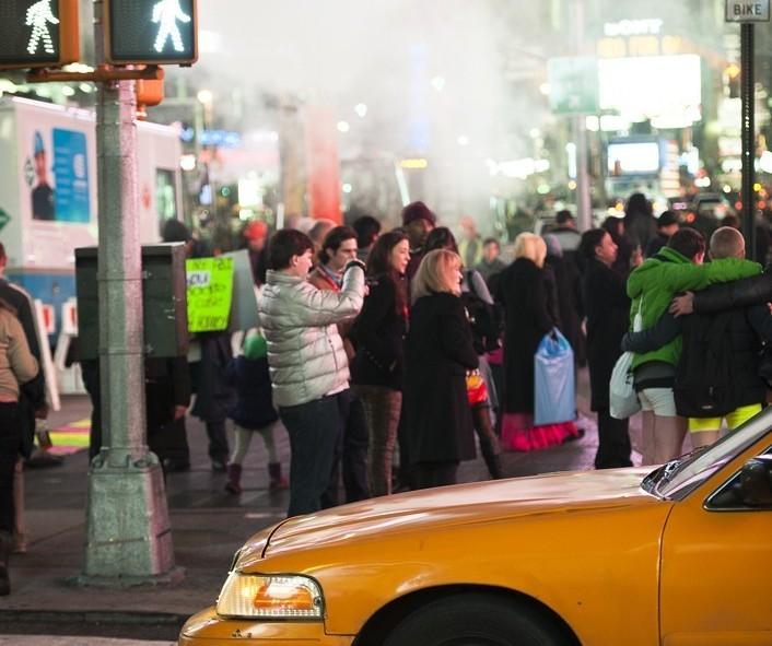 Time Square et ses nombreux photographes, New York