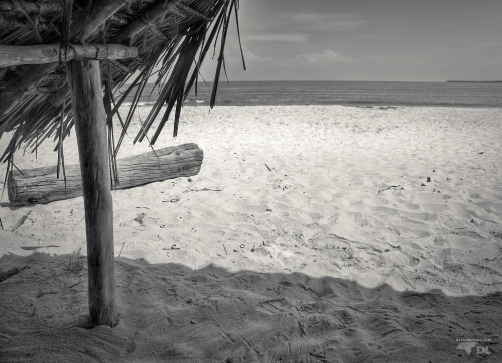 Plade de Mikadi Beach en bordure de Dar es Salaam