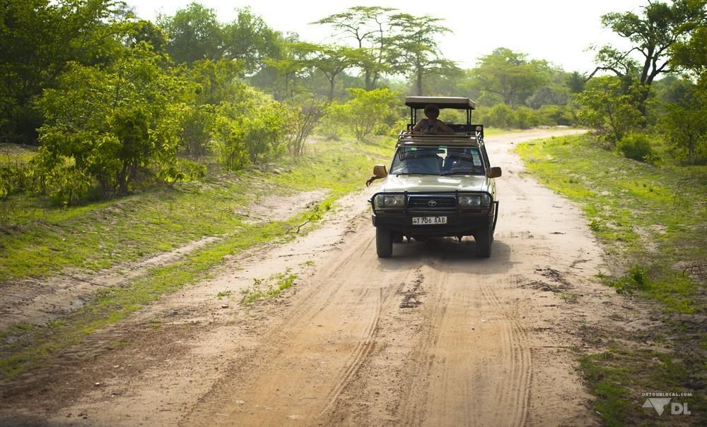 Jeep typique pour partir en safari