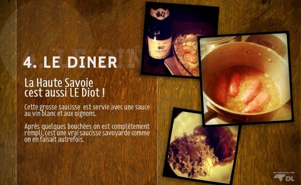 4. Le Diner