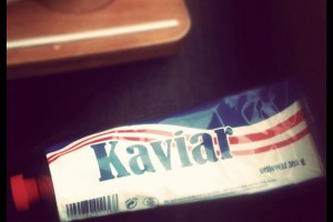 Le Kaviar norvégien look vintage et goûte vintage !