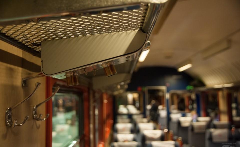 La classe économie du train en Norvège (ligne Oslo - Bodø)