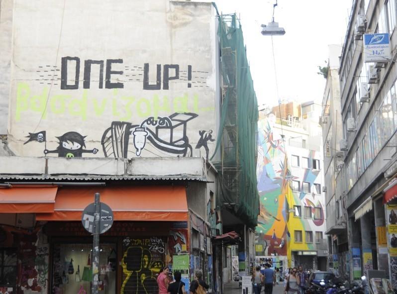 Ruelle coloré, Athènes