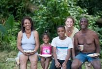 une famille en or, échange en Jamaique
