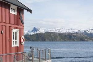 Hamnes, Norvège