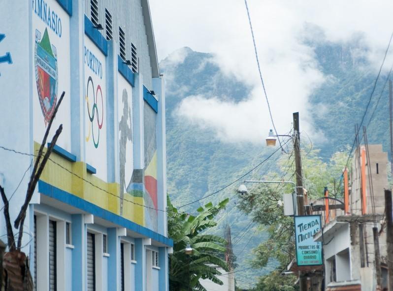 Centre sportif du village de San Pedro