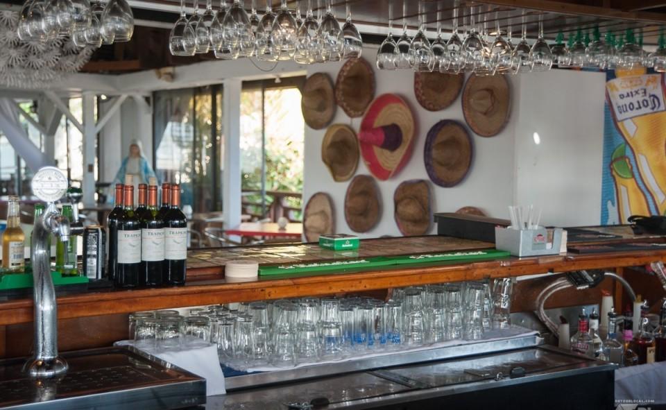 Un bar mexicain de St-Martin