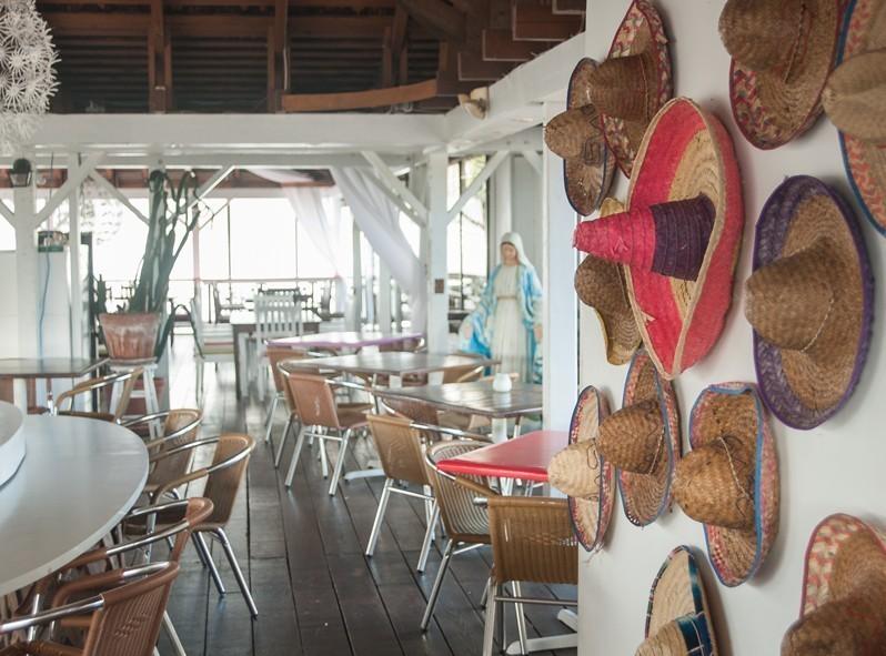 Restaurant mexicain de Simpson Bay, St-Martin