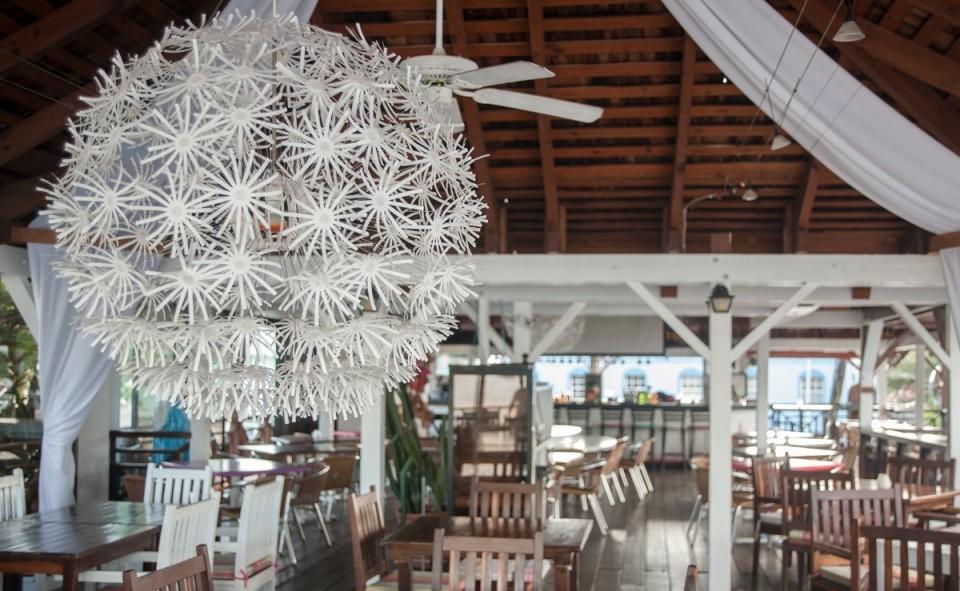 Ambiance décontracte des restaurants de St-Martin