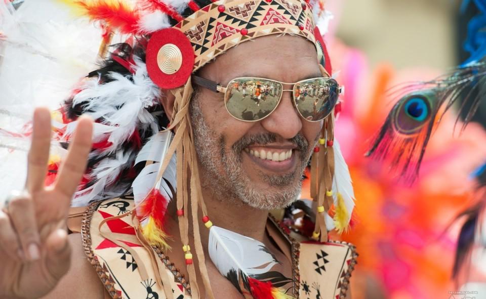 Le Carnaval de St-Martin en Février pendant un mois