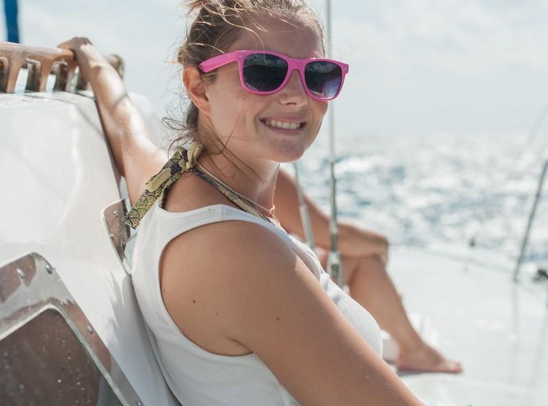 Alizé à bord du Céline