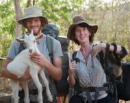 Nick et Félicie, deux autres volontaires qui sont devenus amis