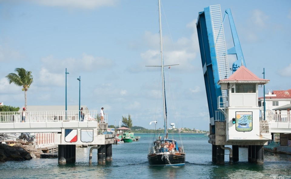 Saint Martin est reconnu pour son traffic légendaire dû à la levée des ponts