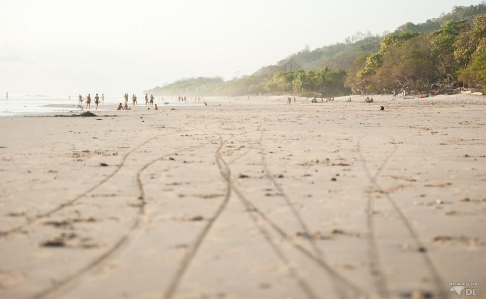La plage de Samara sur la côte Pacifique