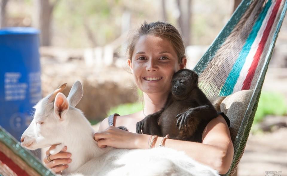 Peanut et coco dans le hamac avec Alizé