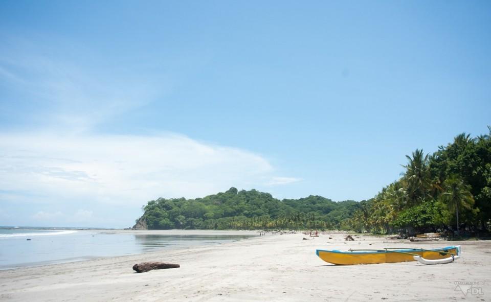 Une des nombreuses plages d'Amérique Centrale