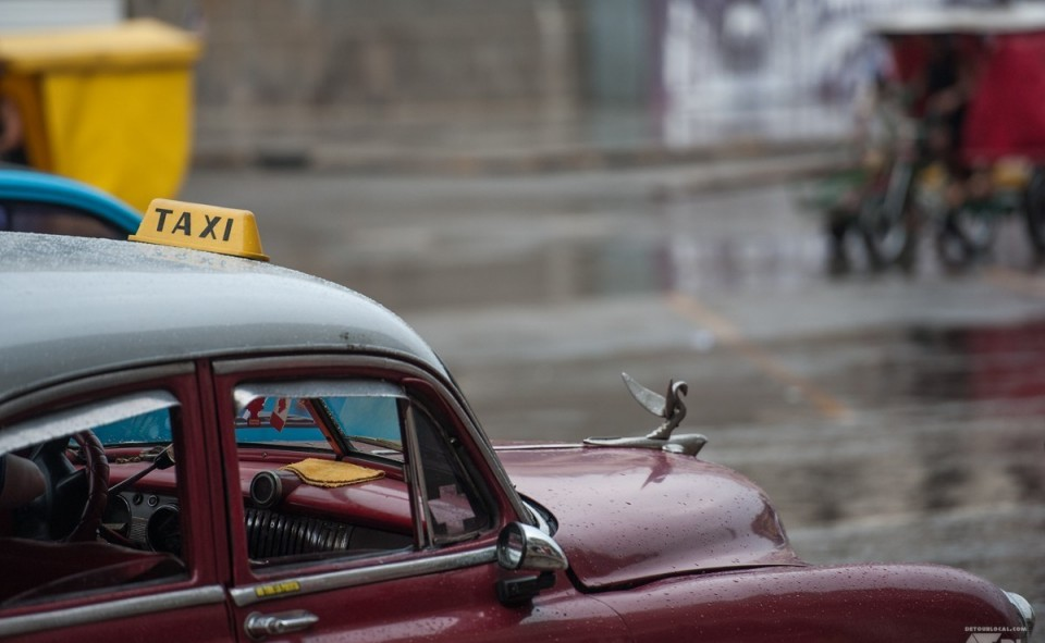Les taxis vintages de Cuba