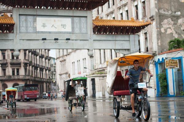 Le quartier de Dragones, le quartier chinois de La Havane