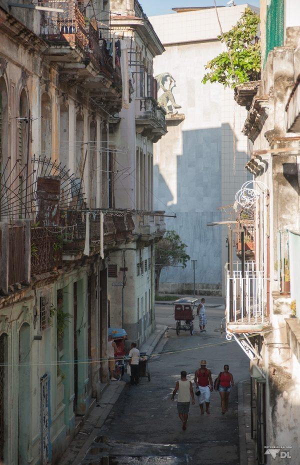 Notre quartier dans le centre-ville de la Havane