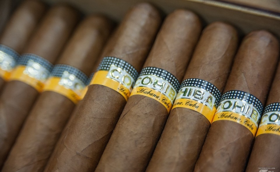 Cohiba, le cigar de Fidel