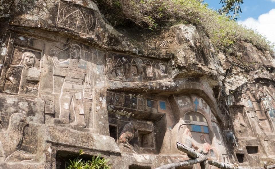La réserve Tisey et ses nombreuses sculptures uniques