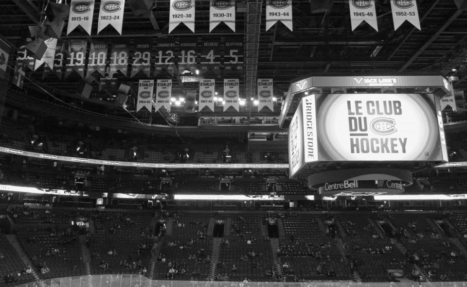 Le Centre Bell, c'est le lieu mère des Canadiens de Montréal
