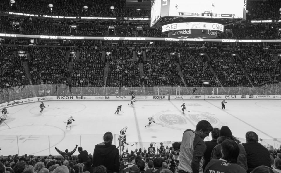 Une game de hockey comme le disent si bien les québécois