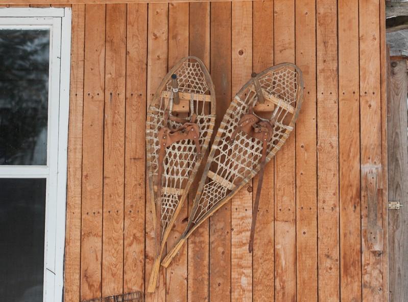 Le shack (petite cabane en bois) pour nous réchauffer avant de partir en randonnée