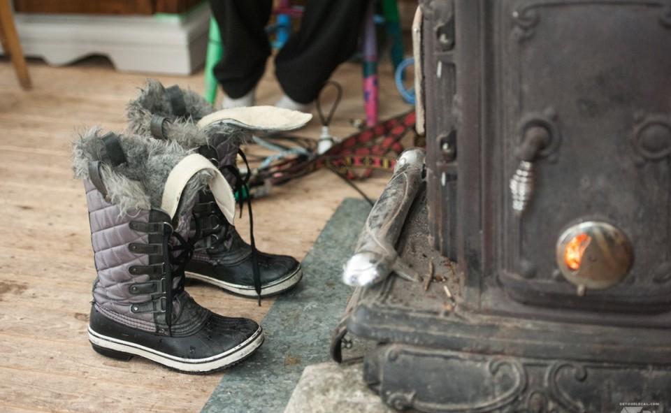 On réchauffe les botines avant le grand départ