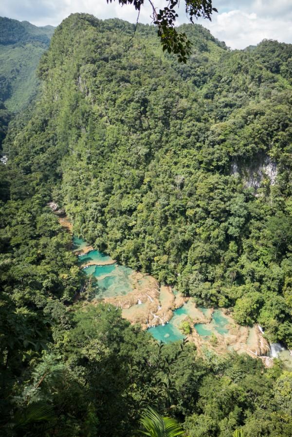 Semuc Champey et ses nombreuses piscines naturelles