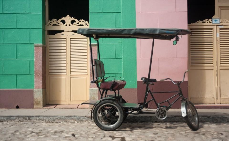 Le bixi taxi à Cuba est un moyen de transport où la négociation est maître