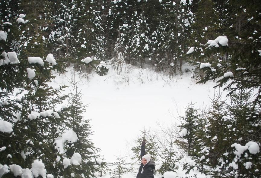 Le grand air québécois à même le parc Ouareau dans Lanaudière