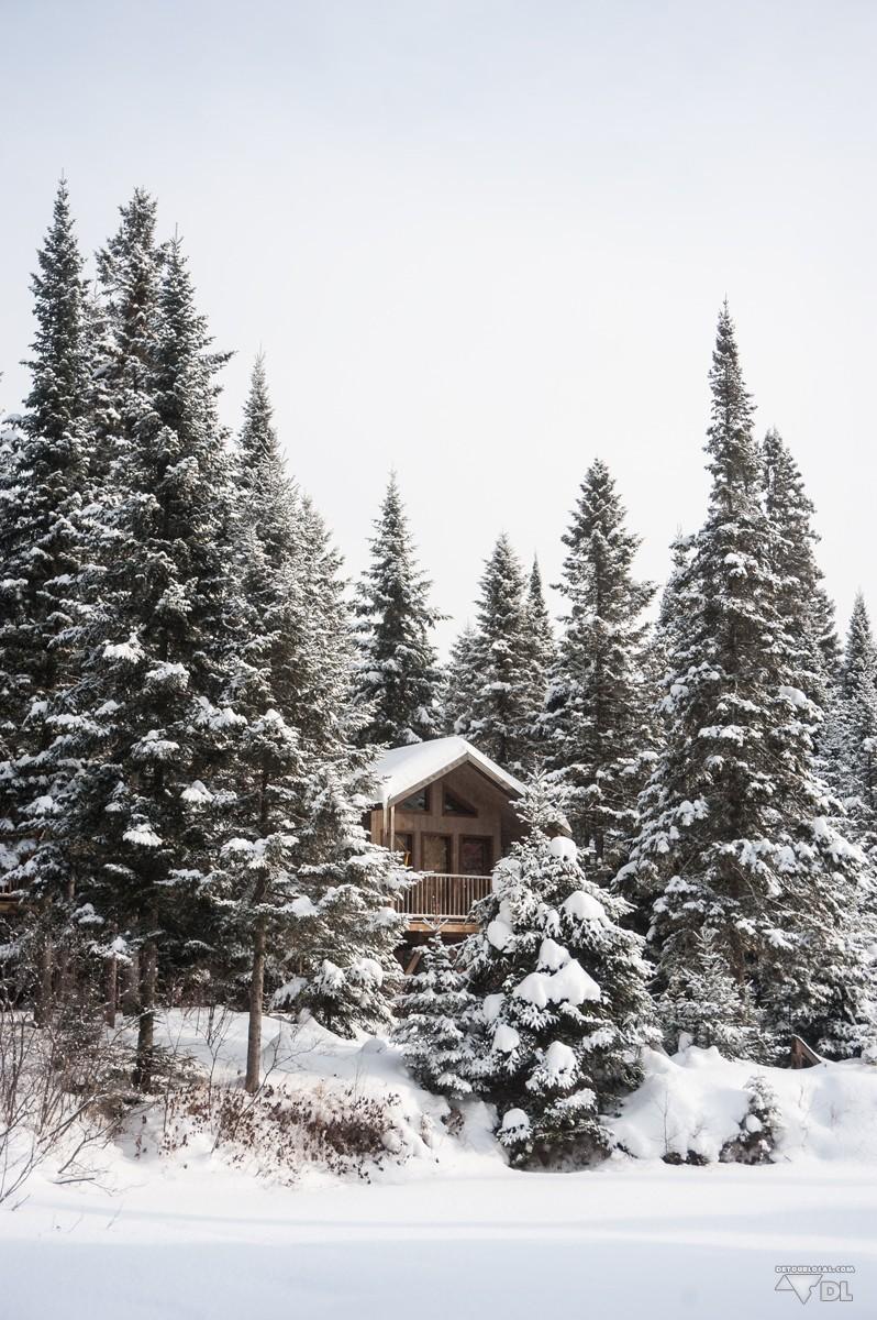 dormir dans une cabane dans les arbres au qu bec d tour. Black Bedroom Furniture Sets. Home Design Ideas