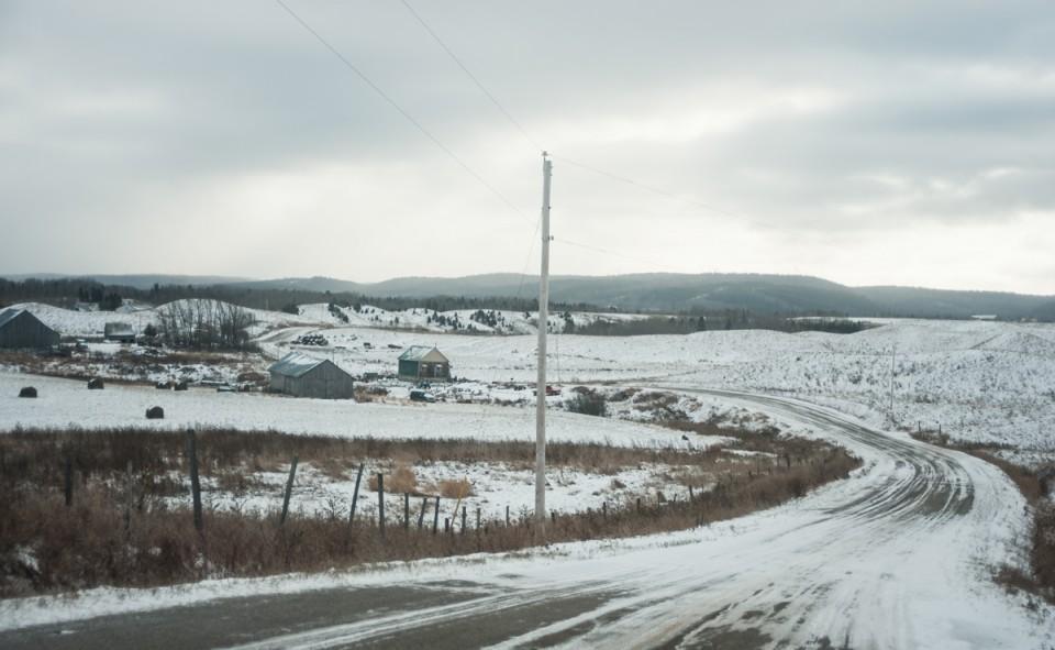 L'hiver arrive doucement à Saint-Félicien