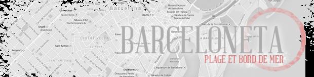 Quartier de Barceloneta à Barcelone et ses plages