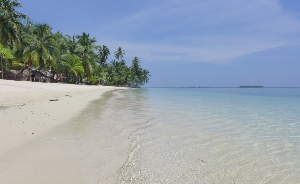 Panama, San Blas.Une île paradisiaque