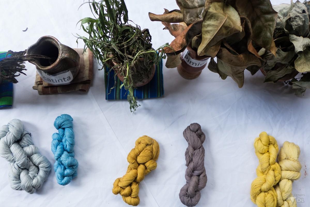 Prendre des cours de tissage san juan au guatemala d tour local - Teinture tissus naturelle ...