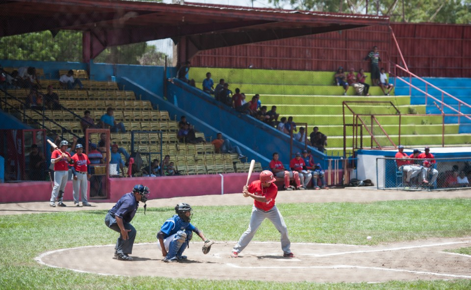 Match de base ball à Léon