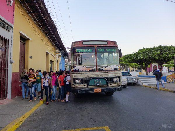 Se déplacer en bus local à Léon