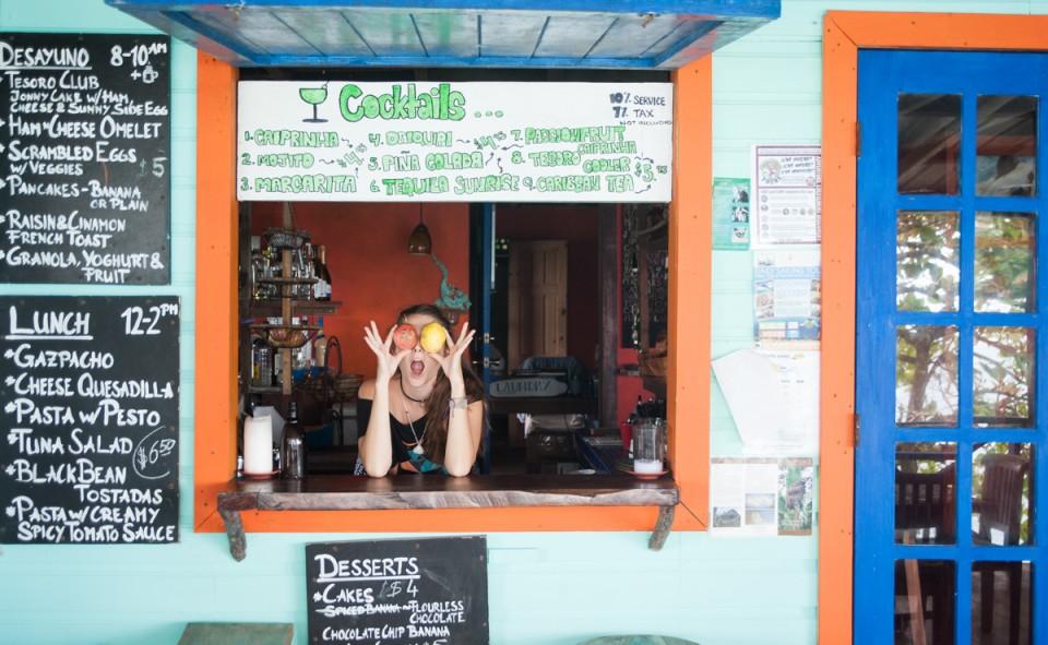 Bar et cuisine à Tesoro Escondido