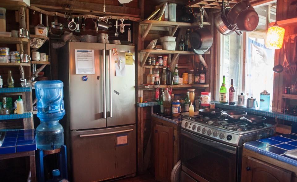 Notre cuisine pour les deux semaines d'échange