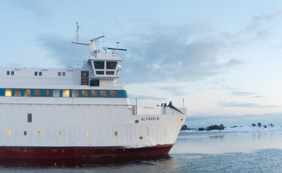 Prendre le bateau dans les îles Aland, c'est un passage obliger