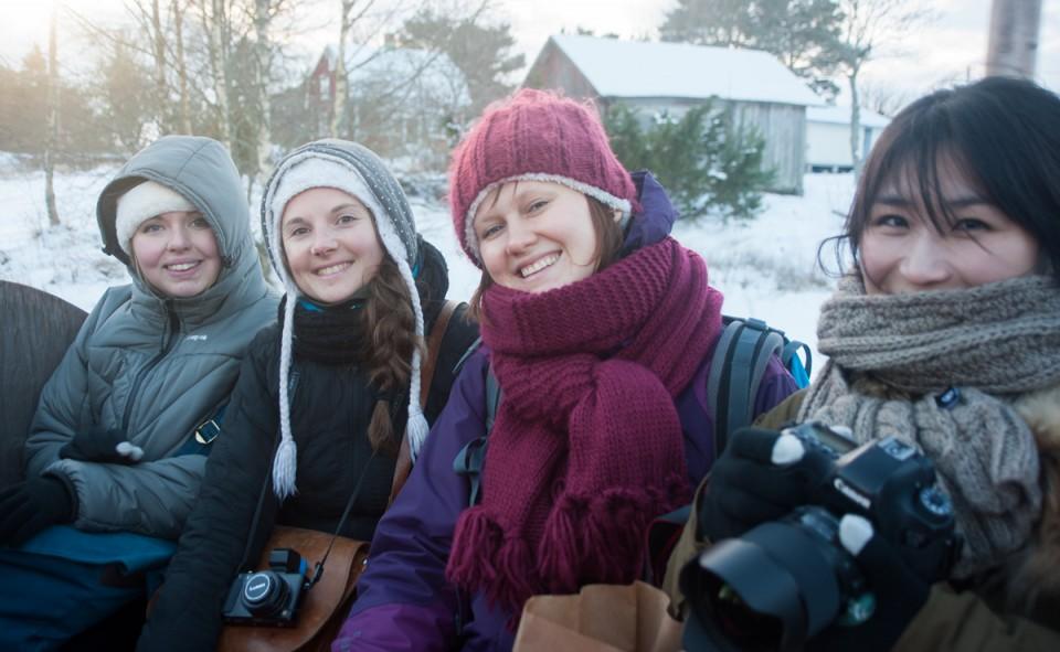 Un groupe de blogueurs exceptionnels au NBE en Finlande